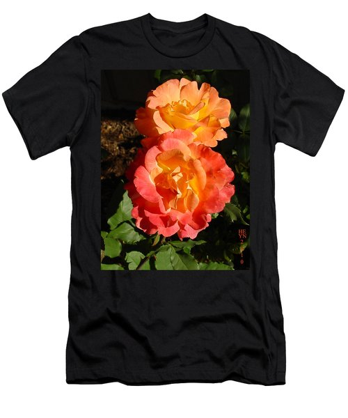 Sunny Roses Men's T-Shirt (Athletic Fit)