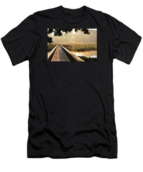 Sunny Walk Men's T-Shirt (Athletic Fit)