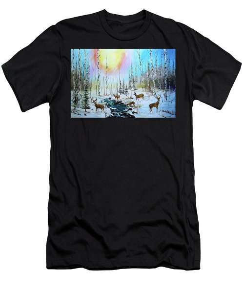 Sunny Winter Men's T-Shirt (Athletic Fit)