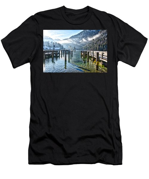 Sunny Winter Morning Men's T-Shirt (Athletic Fit)