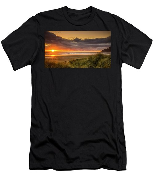 Sunrays Over Manzanita Men's T-Shirt (Athletic Fit)