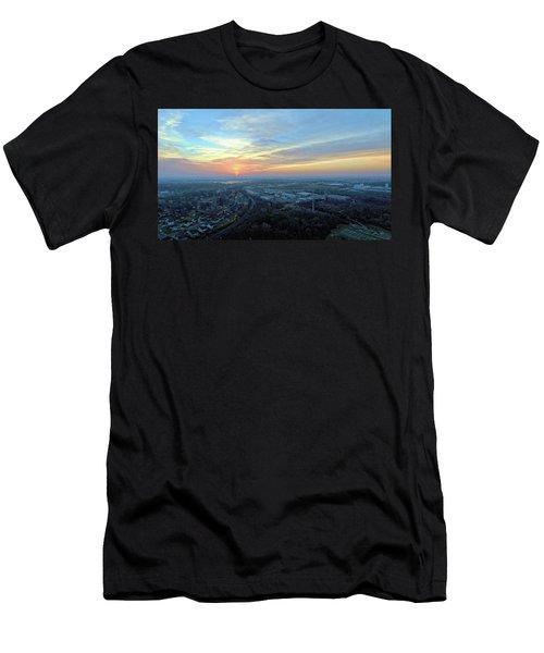 Sunrise At 400 Agl Men's T-Shirt (Slim Fit) by Dave Luebbert