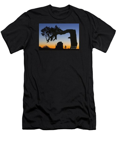 Men's T-Shirt (Slim Fit) featuring the photograph Sunrise At East Mitten by Jerry Fornarotto