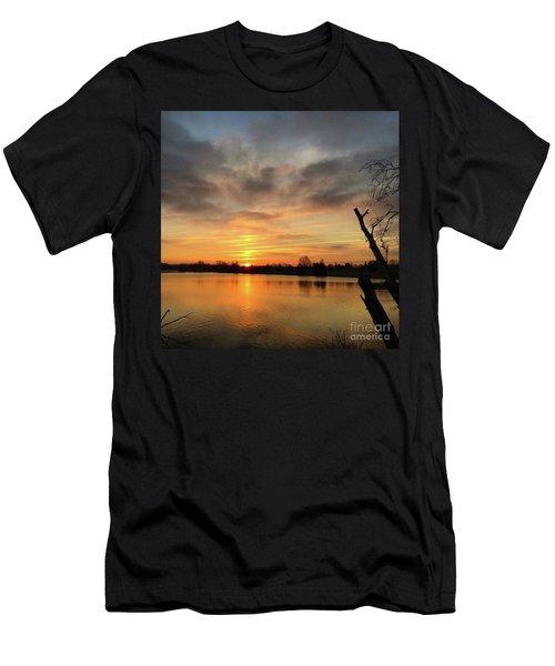 Sunrise At Jacobson Lake Men's T-Shirt (Athletic Fit)