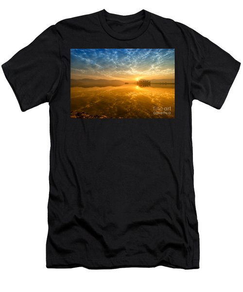 Sunrise At Jal Mahal Men's T-Shirt (Athletic Fit)