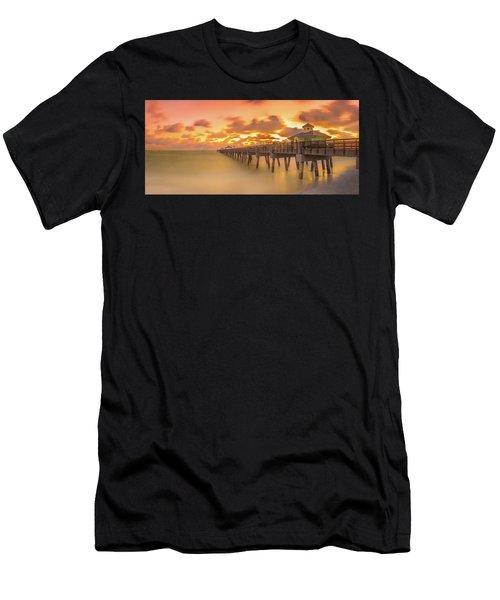 Sunrise At Juno Beach Men's T-Shirt (Athletic Fit)