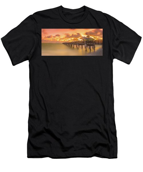 Men's T-Shirt (Athletic Fit) featuring the photograph Sunrise At Juno Beach by Francisco Gomez