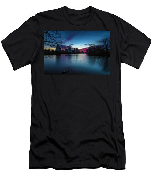 Sunrise At Lou Neff Point Men's T-Shirt (Athletic Fit)