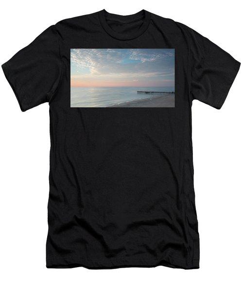 Sunrise At Sandbridge, Va Men's T-Shirt (Athletic Fit)