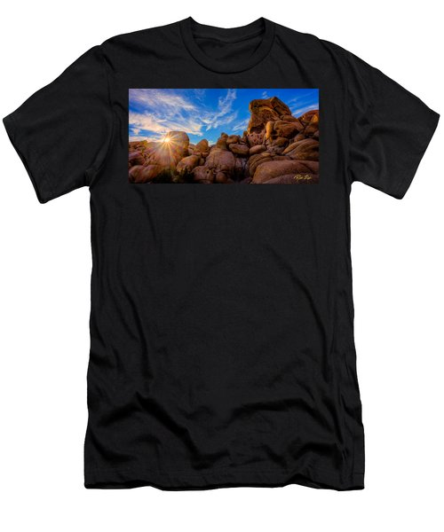 Sunrise At Skull Rock Men's T-Shirt (Athletic Fit)