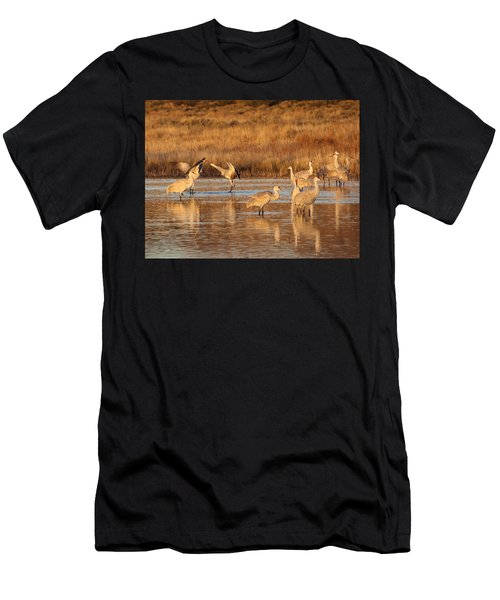 Sunrise At The Crane Pond Men's T-Shirt (Athletic Fit)