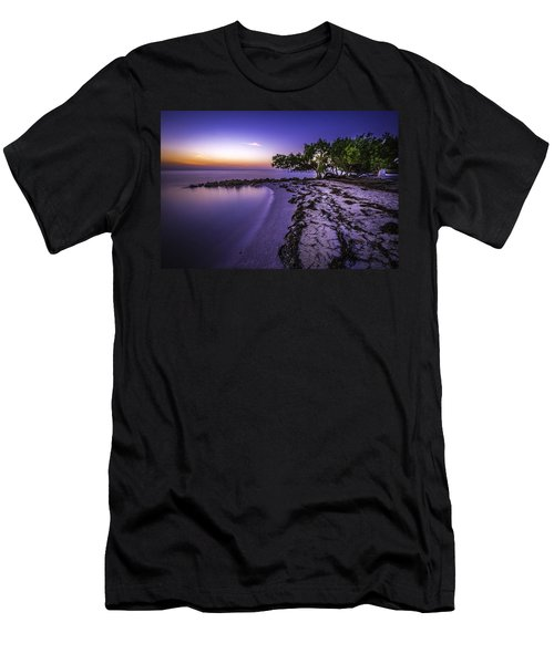 End Of The Beach Men's T-Shirt (Athletic Fit)