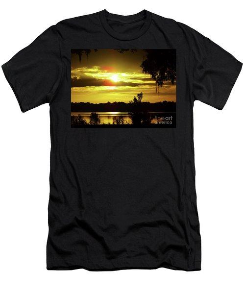 Sunrise At The Lake Men's T-Shirt (Athletic Fit)