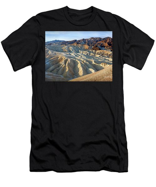 Sunrise At Zabriskie Point Men's T-Shirt (Athletic Fit)