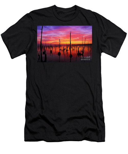 Sunrise Awaits Men's T-Shirt (Athletic Fit)