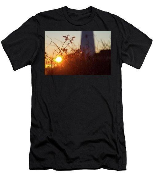 Sunrise Backlight Men's T-Shirt (Athletic Fit)