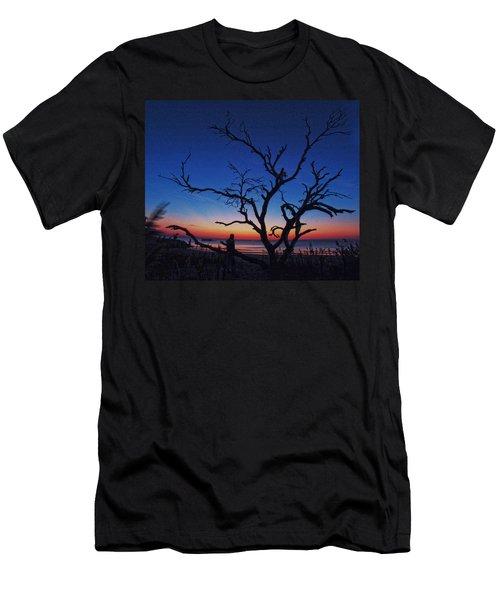 Sunrise Beach Men's T-Shirt (Athletic Fit)