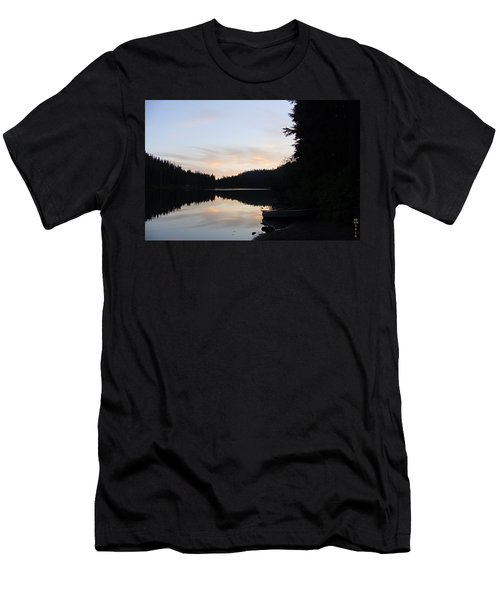 Sunrise Boat  Men's T-Shirt (Athletic Fit)