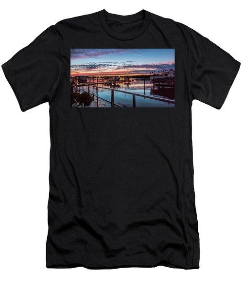 Sunrise Christmas Morning Men's T-Shirt (Athletic Fit)