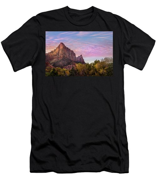 Sunrise Colors Men's T-Shirt (Athletic Fit)