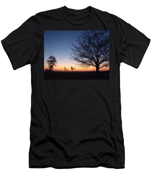 Sunrise Colors Men's T-Shirt (Athletic Fit)