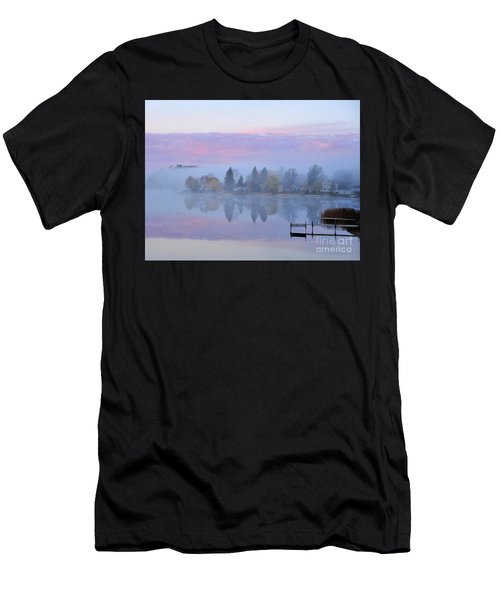 Sunrise Comes To Stoneledge Lake Men's T-Shirt (Athletic Fit)