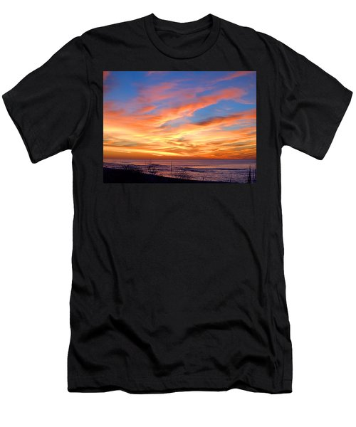 Sunrise Dune I I I Men's T-Shirt (Athletic Fit)