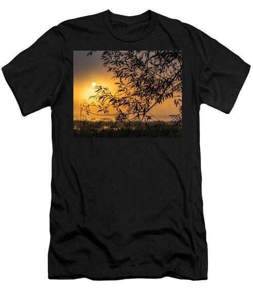 Sunrise Fog Men's T-Shirt (Athletic Fit)