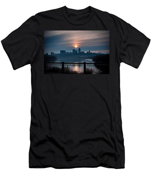 Sunrise From Kaw Point Men's T-Shirt (Athletic Fit)