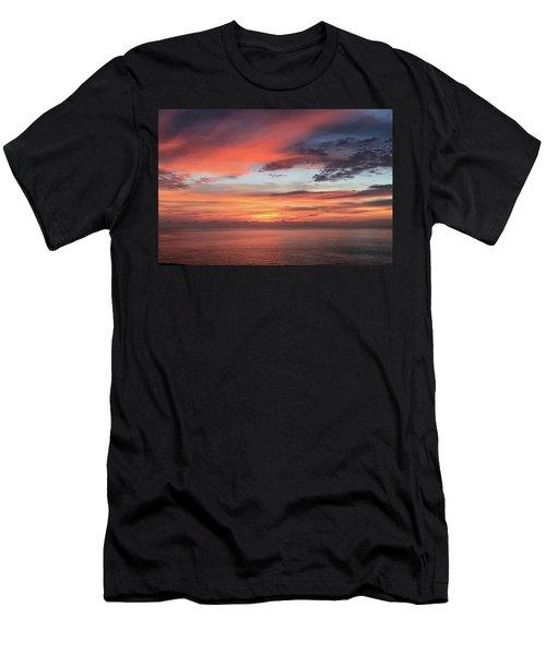 Sunrise From Koko Head Men's T-Shirt (Athletic Fit)