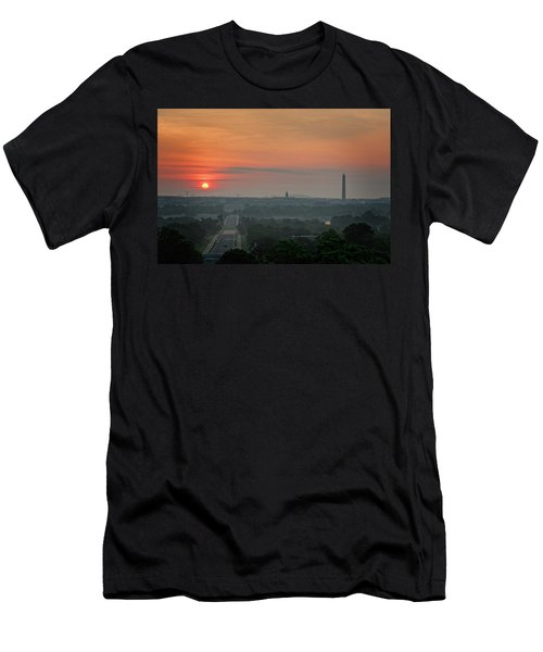 Sunrise From The Arlington House Men's T-Shirt (Athletic Fit)