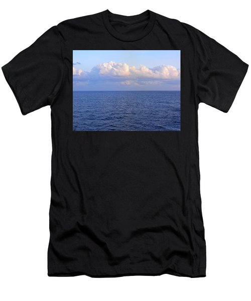 Sunrise From The Atlantic Ocean Men's T-Shirt (Athletic Fit)