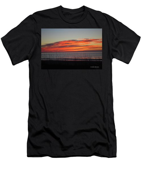 Sunrise Men's T-Shirt (Slim Fit) by Gordon Mooneyhan