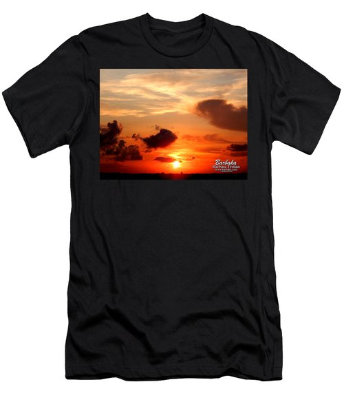 Sunrise In Ammannsville Texas Men's T-Shirt (Athletic Fit)