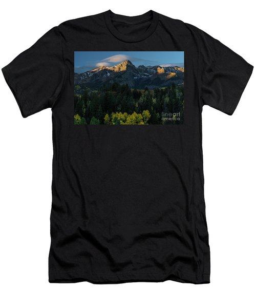 Sunrise In Colorado - 8689 Men's T-Shirt (Athletic Fit)
