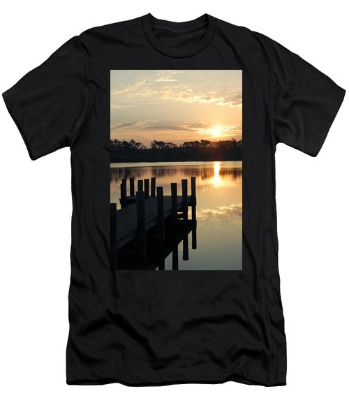 Sunrise In Grayton Beach II Men's T-Shirt (Athletic Fit)