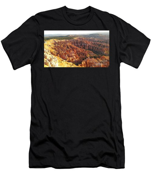 Sunrise In The Canyon Men's T-Shirt (Athletic Fit)