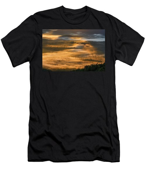 Sunrise In The Valley Men's T-Shirt (Athletic Fit)