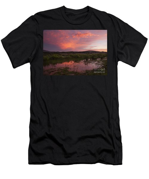 Sunrise In The Wichita Mountains Men's T-Shirt (Athletic Fit)
