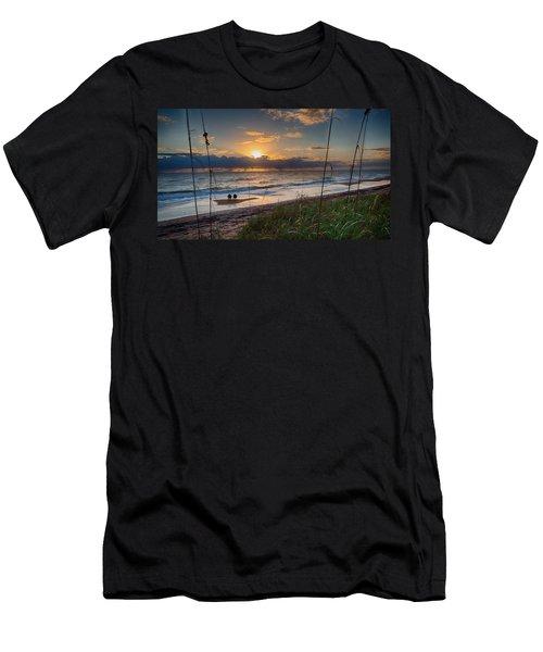 Sunrise Love Men's T-Shirt (Athletic Fit)