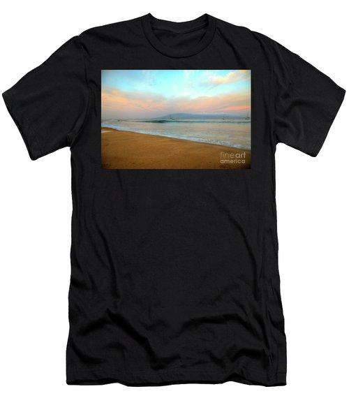 Sunrise On Ka'anapali Men's T-Shirt (Athletic Fit)