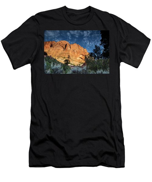 Sunrise On Kolob Arch Trail Men's T-Shirt (Athletic Fit)
