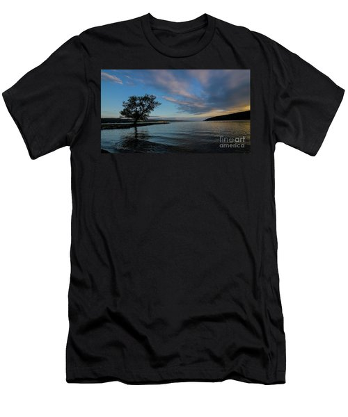 Sunrise On Seneca Lake Men's T-Shirt (Athletic Fit)