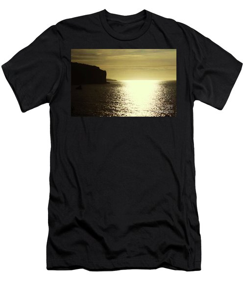 Men's T-Shirt (Slim Fit) featuring the photograph Sunrise On The Almalfi Coast by Polly Peacock