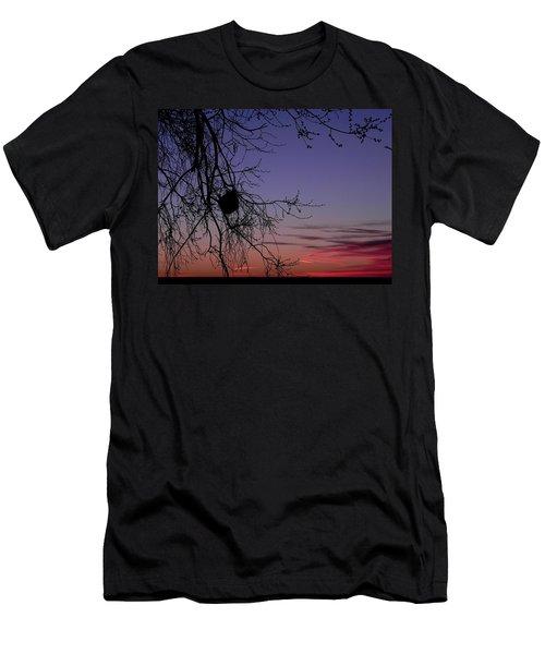 Sunrise On The Colorado Plains Men's T-Shirt (Athletic Fit)