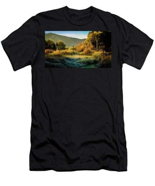 Sunrise On The Duck Marsh Men's T-Shirt (Athletic Fit)
