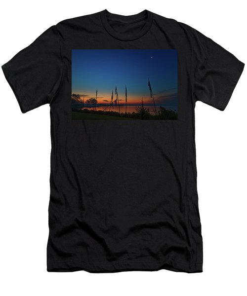Sunrise On The Neuse 1 Men's T-Shirt (Athletic Fit)
