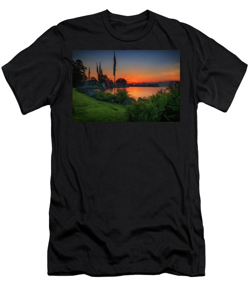 Sunrise On The Neuse 2 Men's T-Shirt (Athletic Fit)
