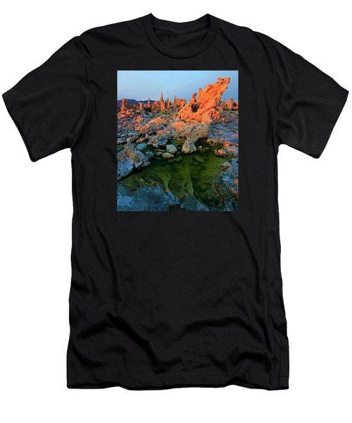 Sunrise On Tufa 2 Men's T-Shirt (Athletic Fit)