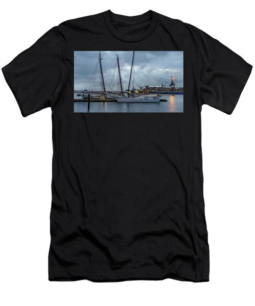 Sunrise Over Baltimore Men's T-Shirt (Athletic Fit)